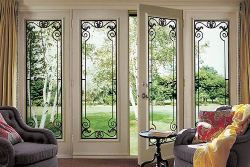 Cameronwindow doors inc for Sliding glass doors garden
