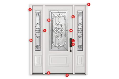 LIFETIME ON DOOR PANELSLIFETIME ON GLASS SEALSLIFETIME ON DOOR HINGESLIFETIME ON DOORLITE FRAMESLIFETIME ON Q-LON WEATHERSTRIPPING  sc 1 st  Cameron Window \u0026 Doors & CameronWindow \u0026 doors INC
